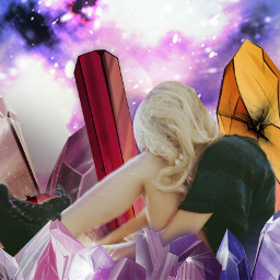 freetoedit cristal girl sad