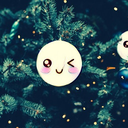 freetoedit kawaii christmas christmastree