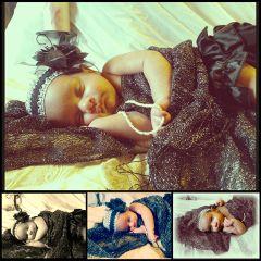 baby diva doll princess babygirl photography props elegance daughter cutebaby newborn portrait black glitter