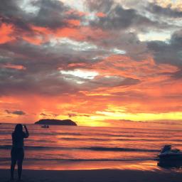 beach colorful colorsplash cute emotions freetoedit