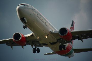 photography planes landing b737