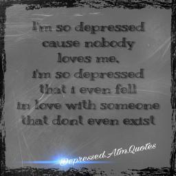 depressed quotes love depressingquotes nobody