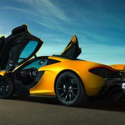 freetoedit car mclaren yellow
