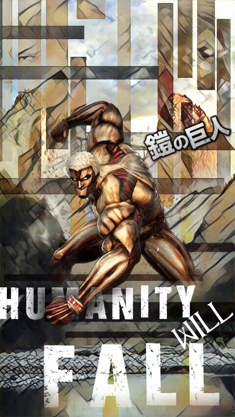 Anime Attackattack On Titan Reinerbraun Armored Titan