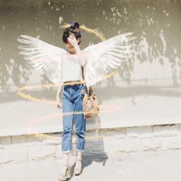 freetoedit spiralangel angelwings freetofly sparklers