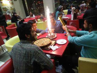 birthday gathering fun