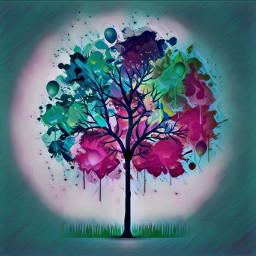 freetoedit treeoflife treeoflive tree colourtree