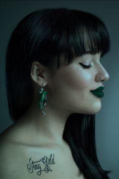 makeup slytherin harrypotter hogwarts girl