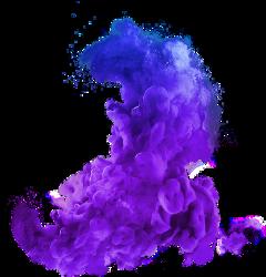colorful purple smoke stickers myedit