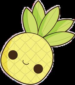 piña kawaii freetoedit pi