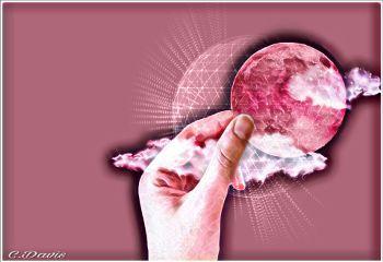 freetoedit moon pink myedit remix